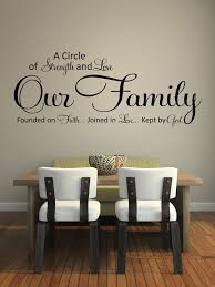dining room walls wall quotes