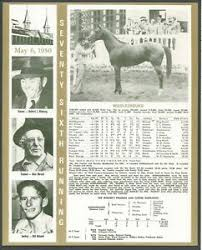 Kentucky Derby Race Chart Details About 1950 Middleground Kentucky Derby Wc Race Chart Jockey Trainer Owner