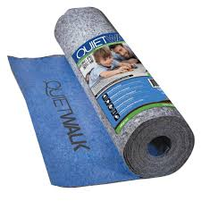 underlayment w sound absorption vapor barrier for laminate and engineered flooring