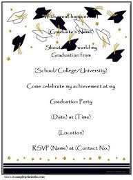 Free Printable Graduation Reception Invitations Download Them Or Print