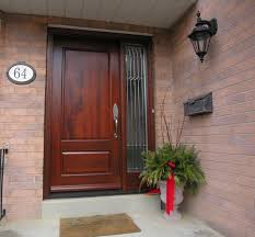 mahogany front door. Single Mahogany Entry Doors With Sidelights Front Door