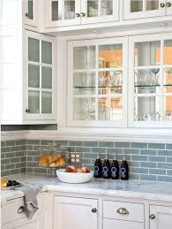 white glass backsplash white cabinets with frosted glass blue subway tile from white glass tile backsplash