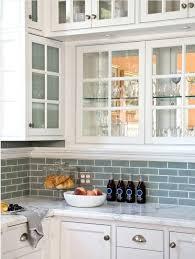 white glass backsplash white cabinets with frosted glass blue subway tile from white glass tile backsplash