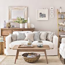 Some of the best accent wall color combinations are light and serene, like in this room that utilizes a grayscale gradient. Living Room Colour Schemes Decor Ideas In Every Shade That Are Brimming With Character And Style