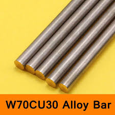 Online Shop Tungsten Copper Alloy Bar Rod W70Cu30 W70 Bar ...