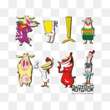 Cow And Chicken Png Cow And Chicken Clips Chalkboard Cow And