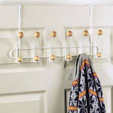 Door Hanging Coat Rack 100 Hook Over the Door Coat Rack in Over the Door Hooks 1