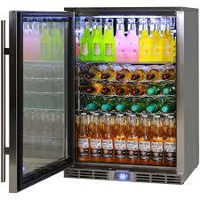 rhino gsp1l ss alfresco bar fridge 6