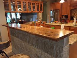 Full Image for Kitchen Bar Top Ideas Countertop Height Counter Overhang ...