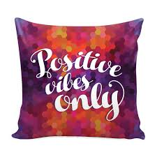cover my furniture. Positive Vibes Only Colorful Hexagon Pillow Cover - My Happy Furniture