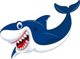 smiling shark clipart. Beautiful Clipart Smiling Shark Cartoon Stock Vector  55077012 And Shark Clipart