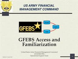 Access Financial Management Ppt Us Army Financial Management Command Powerpoint Presentation