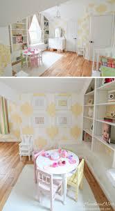 Pink Damask Wallpaper Bedroom How We Killed The Smurf Aka A Girls Bedroom Makeover
