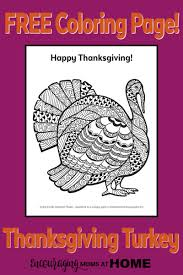 Small Picture Free Turkey Coloring Page for Thanksgiving