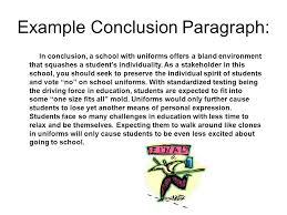 how to write a concluding paragraph ppt video online  8 example conclusion paragraph