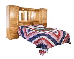 amish country pier wall bed unit from