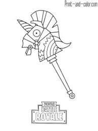 Fortnite Battle Royale Coloring Page Drift Max Level Kidspages In