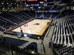 Wintrust Arena Seating Chart With Rows Wintrust Arena Section 201 Depaul Basketball