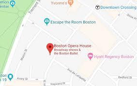 Citizens Bank Opera House Broadway In Boston