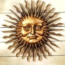 exterior wall art metal uk. metal garden wall art outdoor uk sun and moon exterior
