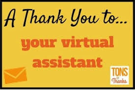 Thank You Note Examples Virtual Assistant Thank You Note Examples