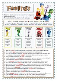 Inside Out Feelings Chart Printable One Click Print Document Emotions Activities Feelings