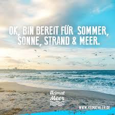 Ok Bin Bereit Für Sommer Sonne Strand Meer Heimatmeer