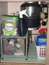 Under Kitchen Sink Organizing Creative Ideas For Under Kitchen Sink Storage Frozed Glass Front