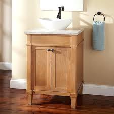 solid wood bathroom vanities exclusive vanity with vessel sink the design  image of