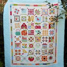 My Farm Girl Vintage quilt has been quilted and bound for months ... & My Farm Girl Vintage quilt has been quilted and bound for months. And the  sun Adamdwight.com