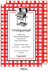Barbeque Invitation Barbeque Table Cloth Invitation Barbeque Invitations 20921