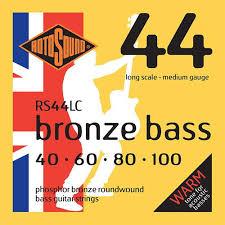 Rotosound RS44LC Phosphor Bronze Bass 44 <b>Acoustic</b> Bass ...
