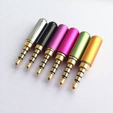 online buy whole 3 5mm er from 3 5mm er 10pcs copper gold plated 1 8 3 5mm male mini jack plug ering 4