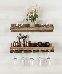 interior t austin design bernon rustic wall mounted wine glass rack outstanding simplistic 7