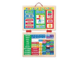 My Magnetic Daily Calendar - Wooden Gifts   Age 3 Buy Toys for 3-Year-Old Girls