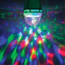 The Range Disco Light Bulb Global Gizmos Rotating Disco Light Bulb
