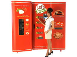 Italian Pizza Vending Machine Extraordinary Let's Pizza Vending Machine To Debut In US Soon Digital Trends