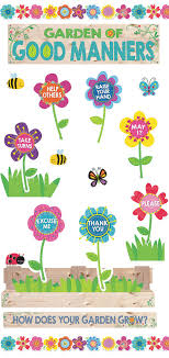 Good Manners Chart For Class 1 Garden Of Manners Chart Bedowntowndaytona Com