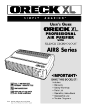 oreck manuals and user guides manualowl com oreck xl professional owners guide