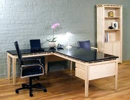 target office desks l shaped glass desk shape modern with drawers furniture set
