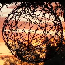 aussie lighting world. Outback Aussie Tours: Bush Art - Wellshot Hotel Ilfracombe Lighting World