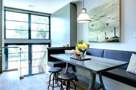 full size of bedrooms ideas images designs modern banquette seating counter height dining table and