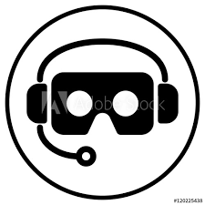 cardboard virtual reality glasses icon with background  buy this stock  vector on Shutterstock u0026 find other images