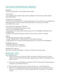 Resume Headers Listing education on resume elemental picture how list getessaybiz 96