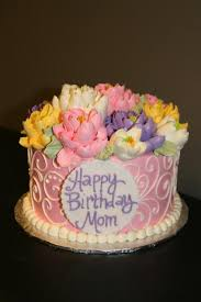 10 Elegant Birthday Cakes For Moms Photo Elegant Birthday Cake
