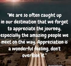 Quotes About Appreciating Life Mesmerizing Remember To Appreciate Life And The Amazing People You Meet Along