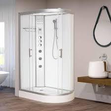 vidalux hydro plus 1200mm x 800mm white left offset quadrant hydro shower cubicle 69775 p jpg