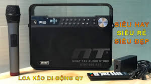 BOXT Q7 - Loa karaoke mini bluetooth cao cấp - loa xách tay Kingbass Q7 |  Nhật Tây Audio Store ✅ - YouTube