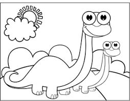 Small Picture Printable 10 Cute Baby Dinosaurs Coloring Pages 10297 Cute Long