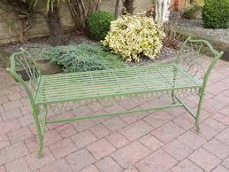 green wrought iron patio furniture. vintage antique green wrought iron garden bench patio furniture p